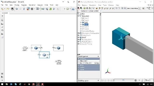 Introduction to Simscape Multibody for multibody simulation. A scissor lift with hydraulic actuation is used to illustrate workflows for mechanism assembly, determining actuator requirements, and HIL testing.