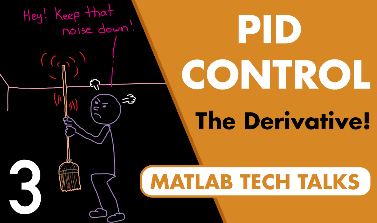Noise is generated by sensors and is present in every system. The derivative in an ideal PID controller amplifies high frequency noise. This video describes how to modify the derivative path to reduce the noise before it impacts the controller.