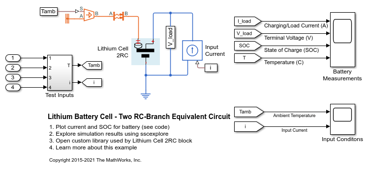 Super Lithium Battery Cell Two Rc Branch Equivalent Circuit Matlab Wiring Database Gramgelartorg