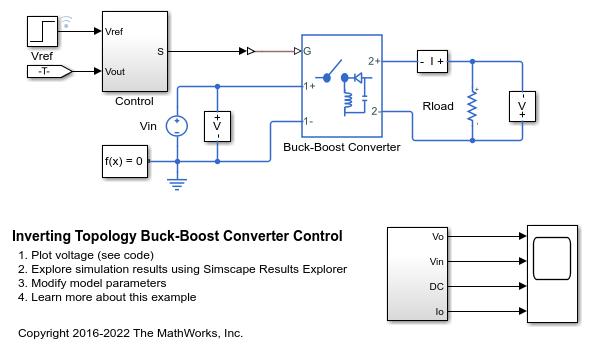Astounding Inverting Topology Buck Boost Converter Control Matlab Simulink Wiring Digital Resources Ommitdefiancerspsorg