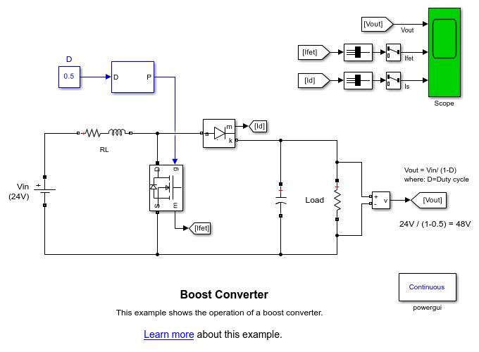 boost converter matlab \u0026 simulinkElectronic Circuit Design Using Matlab #13