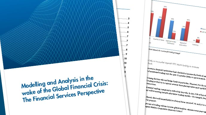Modelling and Analysis: A Financial Services Perspective