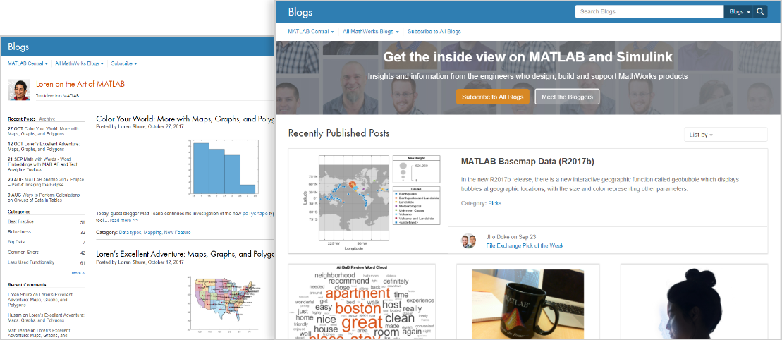 MATLAB Central Blogs Get the inside view on MATLAB