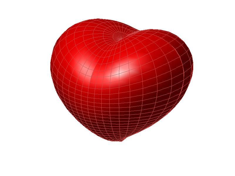 Heart Model for Valentine\'s Day - File Exchange - MATLAB Central