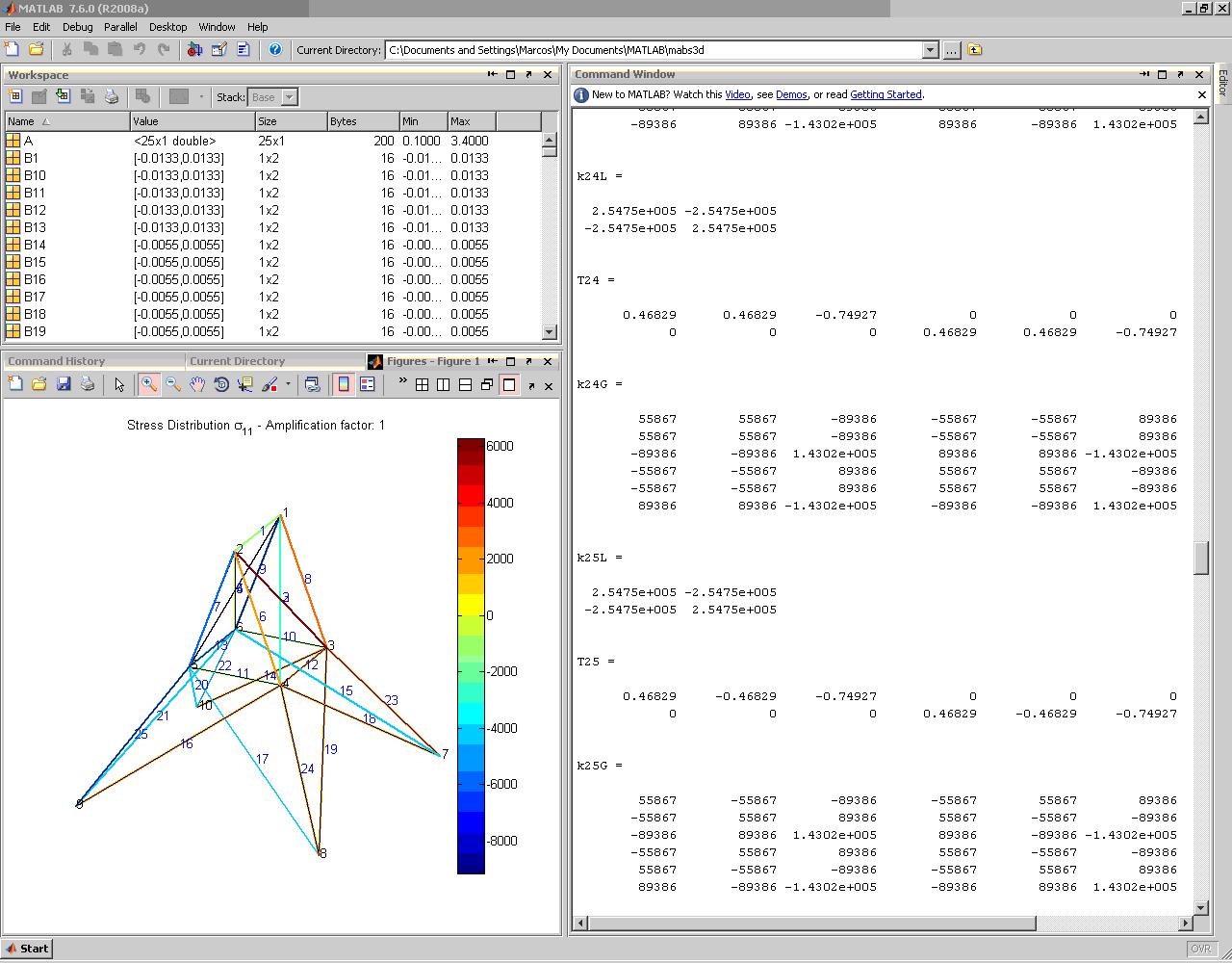 3d Diagram Maker Matrix Analysis Of Three Dimensional Bar Structures Mabs3d