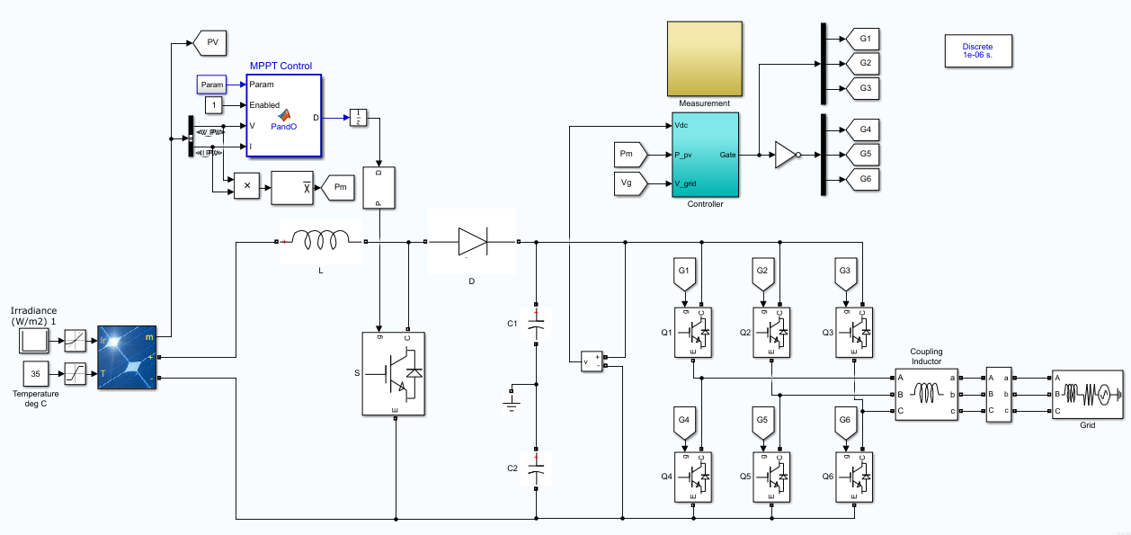Grid Connected Pv Inverter - File Exchange