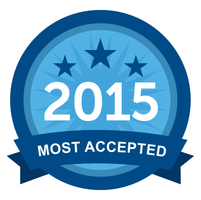 Most Accepted 2015