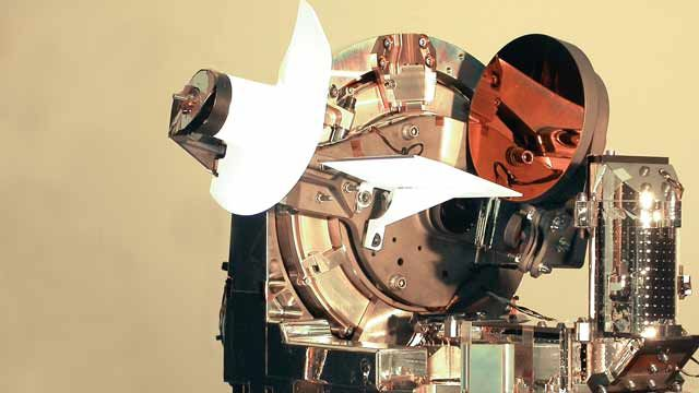 LOLA, a two-way laser optical link between an airborne aircraft and the Artemis geostationary satellite.