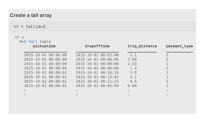 Use MATLAB®` to manipulate and analyze data that is too big to fit in memory.