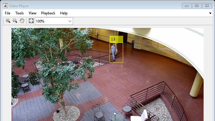 Example: Motion-based multiple object tracking