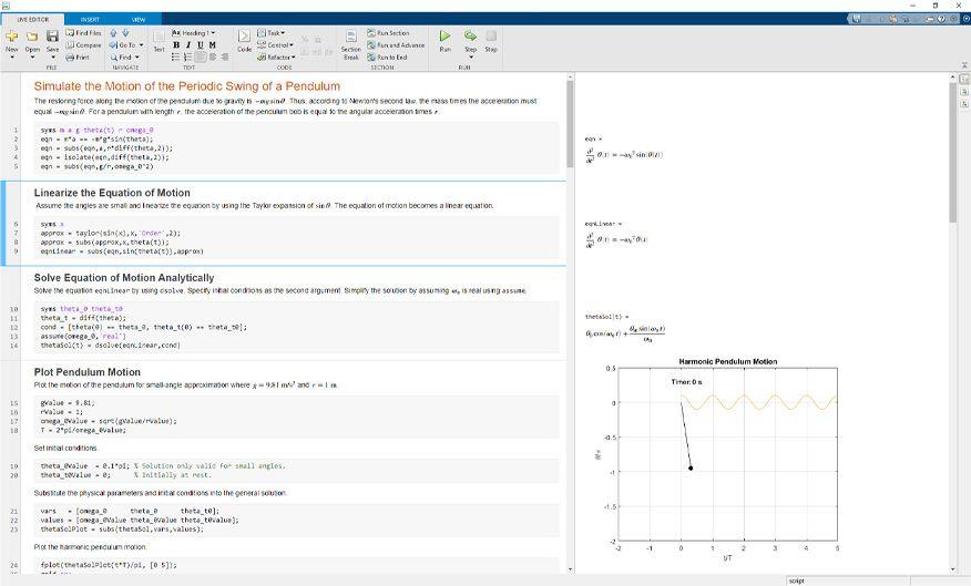 Symbolic Math Toolbox
