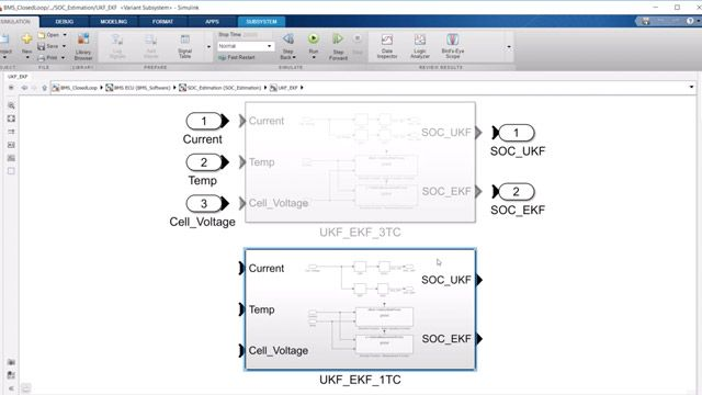 Learn how to model state-of-charge (SoC) algorithms in Simulink.