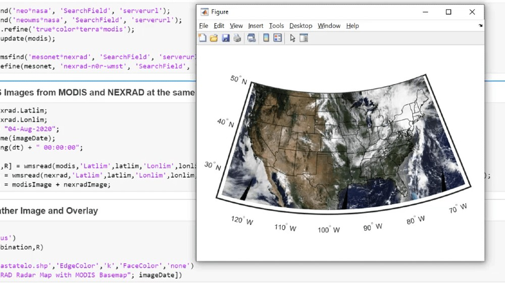 Import map data and create map displays. Manage distortions related to map projection; customize the map with a scale ruler, inset map, and north arrow.