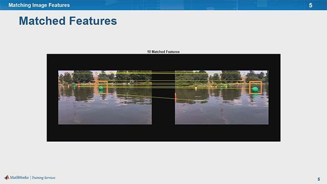 Learn to detect and match features between images