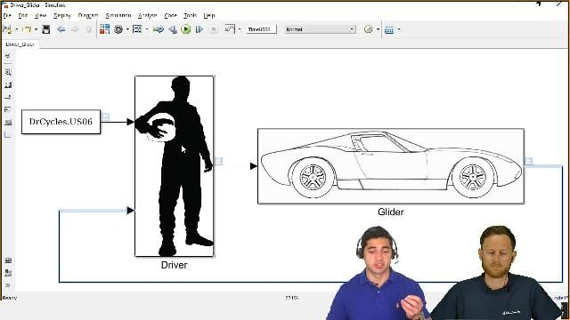 Ed Marquez and Christoph Hahn from MathWorks show you how to create vehicle models for simulations of different powertrains to help you make informed decision during the design process.