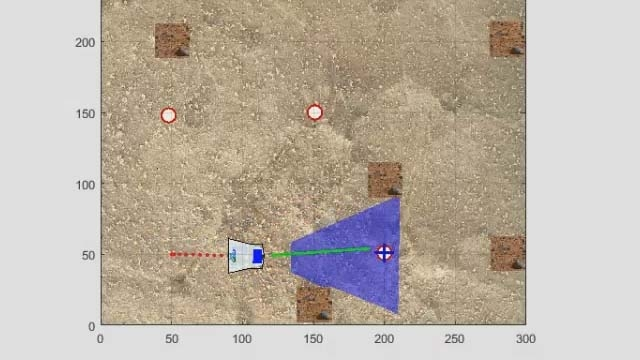 You'll learn to control the Rover robot using distance and speed commands.
