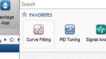 Package your application as a single file for distribution and installation into the MATLAB apps gallery.