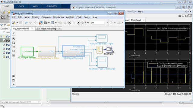 This presentation shows new capabilities of MATLAB and Simulink in signal processing and communications for project-based curricula in signal analytics, wireless design, and audio/sensor applications.