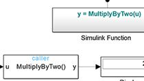 ​Create and call functions across Simulink and Stateflow .