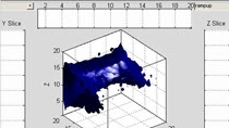 I was working with a MATLAB user that had a large number of data points in the form of x,y,z triples. He was mostly interested in the density of these data points over the range of the data. At first he tried to just do a scatter plot, but there was